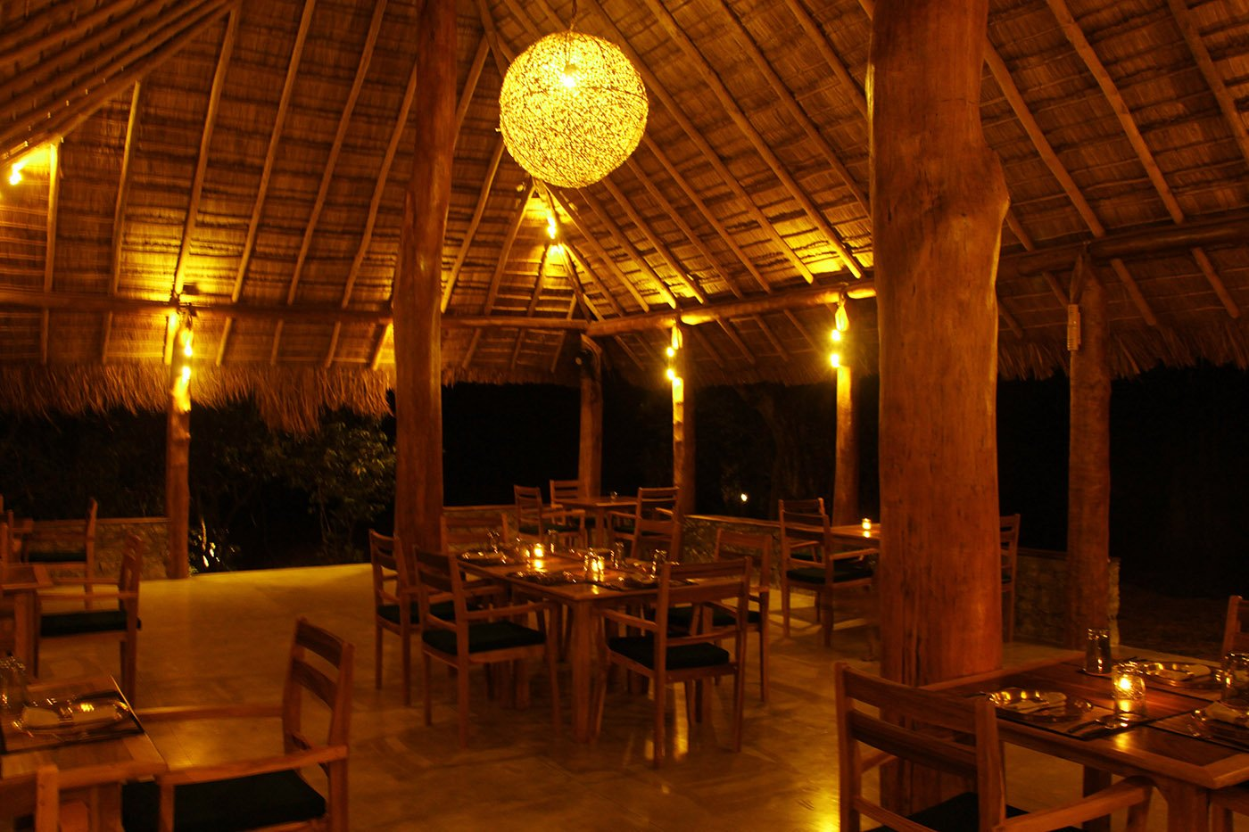 Gal Oya Lodge Restaurant View