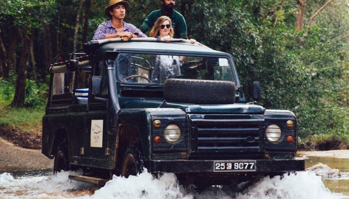 Safari Camping in Gal Oya National Park